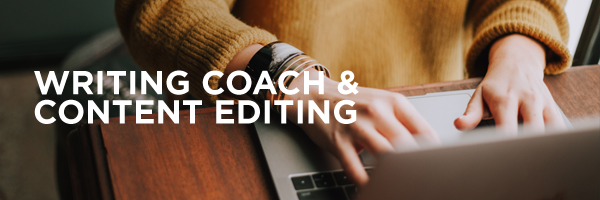 Writing Coach and Content Editing by A Silver Thread Publishing